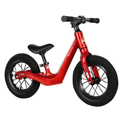 Lucky Star Balance de la Bici por 2-6 años de Edad Niño Niña, Equilibrio Original Bicicleta de Entrenamiento de Bicicletas, Fresco sin Pedal Caminar Balance de Bicicletas para niños y los niños