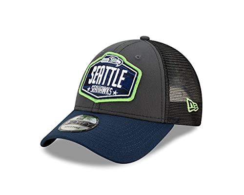 New Era Seattle Seahawks NFL 2021 Draft 9Forty Snapback Cap - One-Size