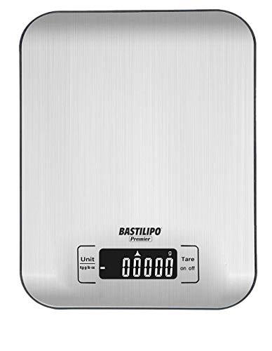 Bastilipo SCA5K-INOX Báscula Digital cocina-SCA5K-INOX