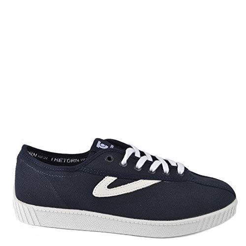 Tretorn Men's Nylite Midnight and White Trainer Azul Marino