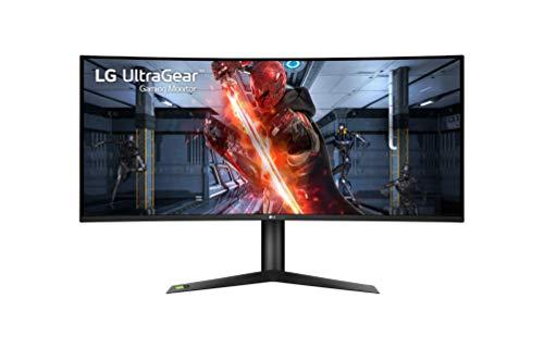 LG 38GL950G-B 95, 25 cm (37, 5 Zoll) Ultragear Curved 21: 9 UltraWide QHD IPS Gaming Monitor (175 Hz, 1ms Gtg, G-Sync, Das Mode), Schwarz