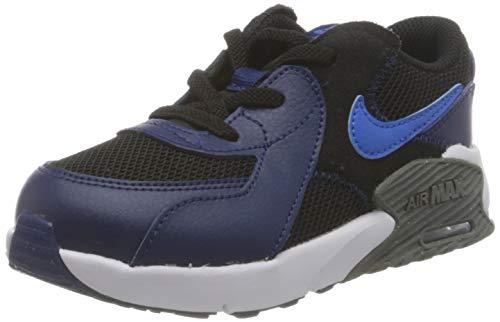 Nike Air MAX EXCEE (PS), Zapatillas para Correr Unisex niños, Black Signal Blue Blue Void Iron Grey, 29.5 EU