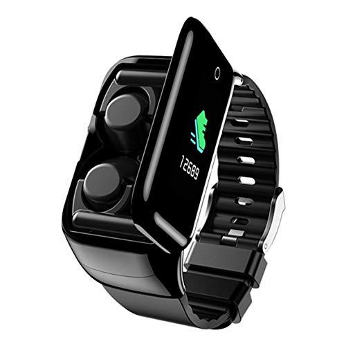 Tragbare M7 Smartwatch mit Kopfhörer Herzfrequenz praktischer Monitor Smartwatch für Android für IOS Phones