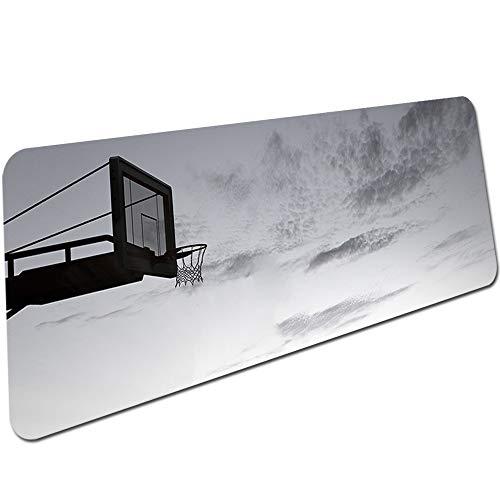 Grauer Himmelsdruck Einfache Schöne Mausmattengröße für 300X600X2Mm und 300X900X2Mm Mousepad 1000X500X3Mm