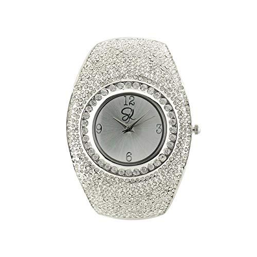 Armbanduhr Dryade aus 925 Sterling Silber Schmuck für Damen Glam