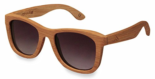 retrostiel Holz Sonnenbrille Overseer Oak
