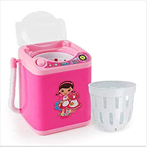 JYSPT Mini Blender Wasmachine Speelgoed Make-up Penseel Schoonheid Sponge Borstels Washer C-Style