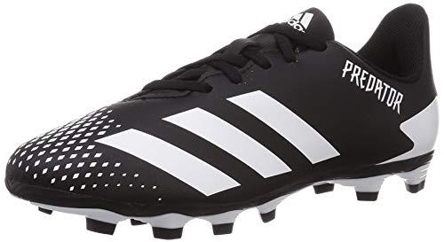 adidas Predator 20.4 FxG J, Zapatillas de fútbol, NEGBÁS/FTWBLA/NEGBÁS, 38 2/3 EU