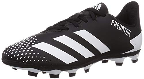 adidas Predator 20.4 FxG J, Zapatillas de fútbol, NEGBÁS/FTWBLA/NEGBÁS, 37 1/3 EU
