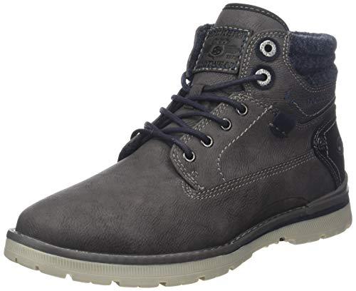 Dockers by Gerli Herren 43JU004 Hohe Sneaker, Grau (Dunkelgrau 220), 42 EU