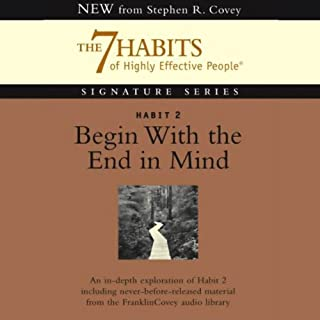 Begin With the End in Mind audiobook cover art
