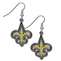 NFL New Orleans Saints Dangle Earrings