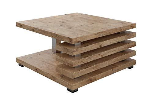 E-Com - Tavolino da Caffe Oslo - 60 x 60 cm - Lancelot