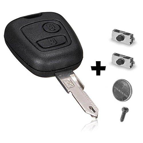 CLE PLIP Peugeot 106 206 306 205 405 406 KIT + 2 switchs Coque TELECOMMANDE @Pro-Plip