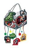 Set de 2 Piñatas Infantiles Decorativas'Vengadores 29,5x28 cm'. Marvel. Juguetes y Regalos Baratos para Fiestas de Cumpleaños, Bodas, Bautizos y Comuniones. AB