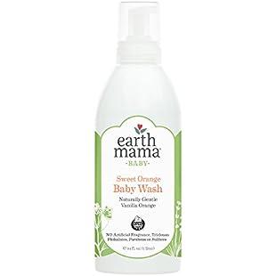 Earth Mama Body Wash & Shampoo Pure Castile Vanilla Orange Soap for Every Body Liter:Tytoftetsi