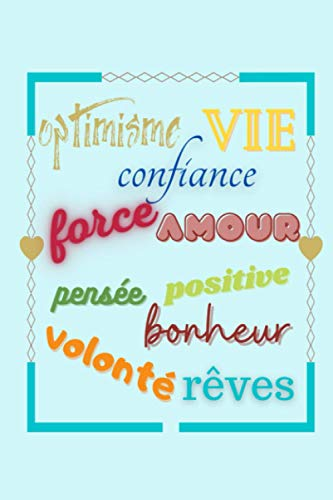 optimisme vie confiance force amour pensée positive bonheur volonté rêves: Mon suivi de FIV - Carnet à remplir fécondation in vitro - journal de bord ... - couverture souple format 15.24*22.86 cms.