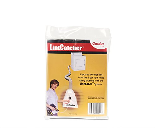 Gardus R4203613 LintEater LintCatcher, to Easily Capture Loosened Lint from Dryer Vent