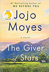 The Giver of Stars by Jojo Moyes. April Book-A-Month pick
