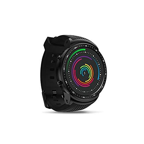 WMING Reloj Inteligente, Hombres Ultraligero Rastreador De Ejercicios Bluetooth 4.0 Cuatro NúCleos 1Gb + 16Gb 5.0Mp 580Mah 1,53 Pulgadas Reloj Deportivo Rastreador De Actividad