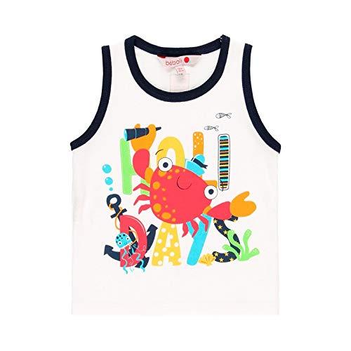 boboli Camiseta Manga Corta Punto Liso de bebé niño Modelo 819064