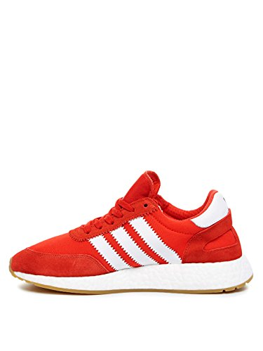 adidas Men's Iniki Runner Sneaker, Red Red Footwear White Gum, 9.5 UK
