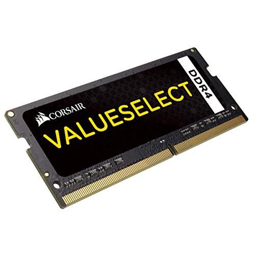 Corsair Value Select - Módulo de Memoria de 16 GB (1 x 16 GB, SODIMM, DDR4, 2133 MHz), Negro (CMSO16GX4M1A2133C15)