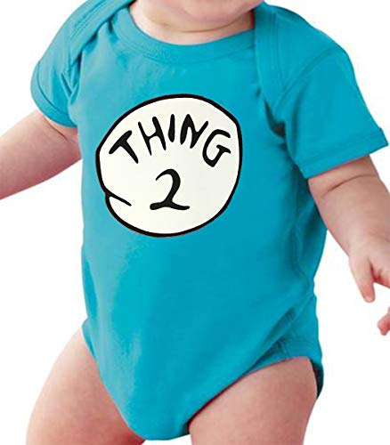 Hobbynica Things Baby Suite - Things Halloween Costume (Thing 2, 0-6 Month)