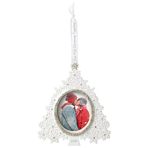 Hallmark Keepsake 2016 'Our First' Dated Picture Frame Holiday Ornament