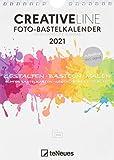 Foto-Bastelkalender weiß 2021 - Kreativ-Kalender - DIY-Kalender - Kalender-zum-basteln - 15x21 -...