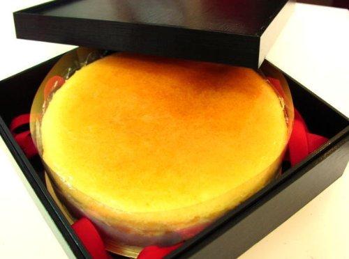 京都焼菓子工房しおん 輪島塗り風・重箱入り京風はんなりチーズケーキ(18cm)
