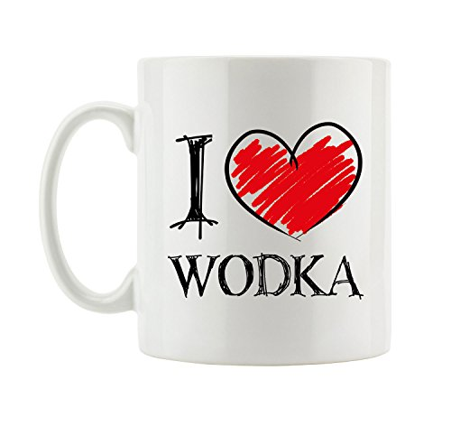 I love Wodka Shirts Fun Tasse