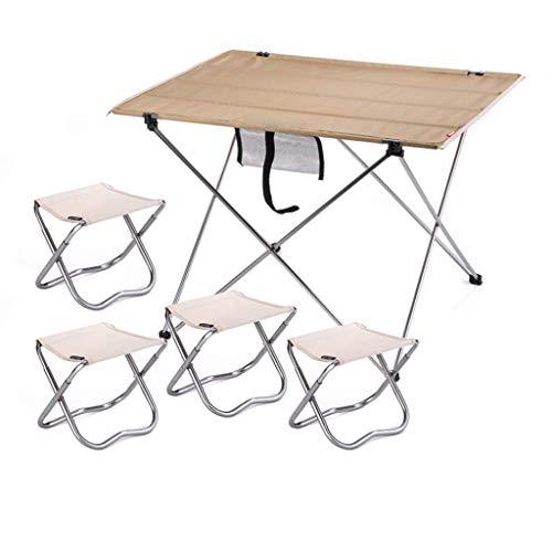 Household Necessities/tafel en combinatie stoel, klapstoel voor camping in de open lucht en stoel, grote klaptafel en stoel Zwart