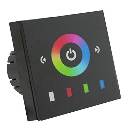 Nova Line ctwm08Controller Touch Wandleuchte für Bänder LED RGB, 24V, Mehrfarbig