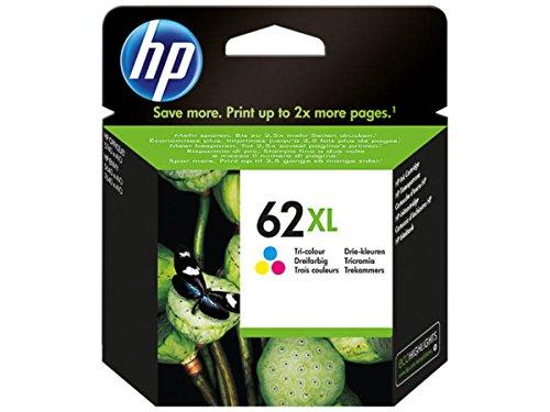 HP original - HP - Hewlett Packard Envy 7640 e-All-in-One (62XL / C2P07AE) - Druckkopf (cyan, magenta, gelb) - 415 Seiten