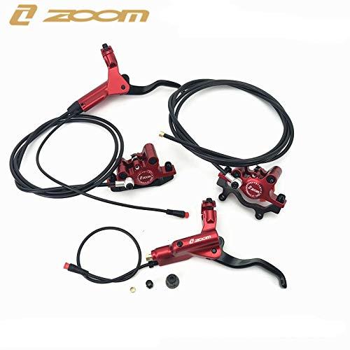 Zoom - Freno de disco hidráulico para bicicleta eléctrica HB-875-E (delantero y trasero, sin rotor)