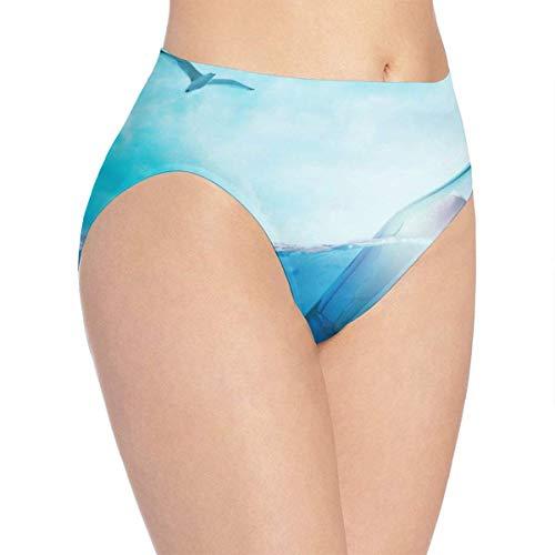 XCNGG Höschen Damenunterwäsche 3D Print Soft Women's Underwear, Bottle Secret Fashion Flirty Lady's Panties Briefs Medium
