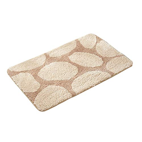 Find Discount CarPet Rectangular Water-Absorbing Non-Slip Bedroom Door mat Bathroom Door mat Three-D...