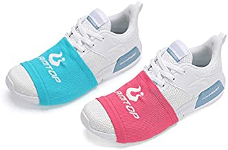 Sock Shoes Dance on Smooth Floors-Over Sneakers Shoe Socks Sliders-Zumba Strong Accessories-Smooth Pivots Turns to Dance on Wood Floors-Protect Knees for Women and Men-One Size Fits All 2 Pairs