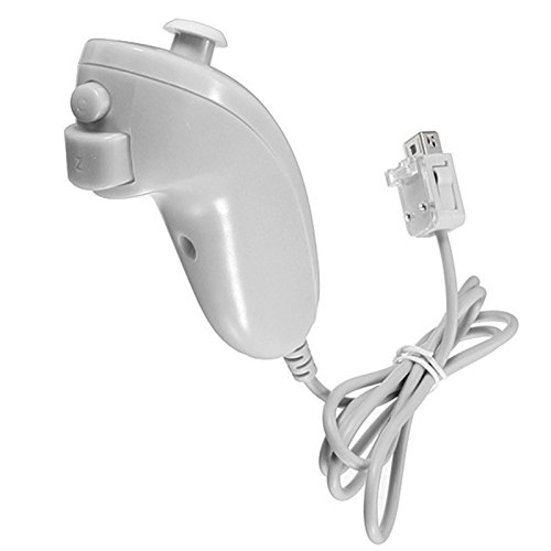 Nunchaco para Consola Nintendo Wii Nunchaku Nunchacos Controlador Joystick 2196