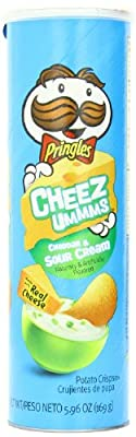 Pringles Cheez Ummms, 5.96 Ounce Super Stack (Pack of 14)