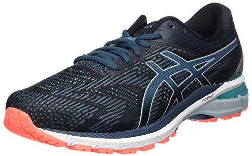 Asics GT-2000 8, Sneaker Mens, Black/Magnetic Blue, 43.5 EU