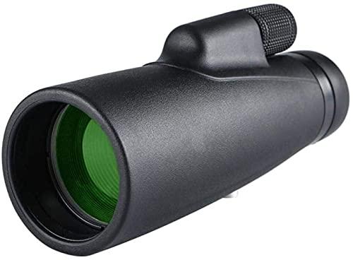 12X50 HD Monocular l Telescopio Binocular para Senderismo Visión Nocturna con Poca luz Alcance Ocular de Alta Potencia, para Interiores/Exteriores