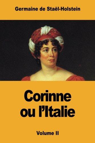 Corinne ou l'Italie: Volume II