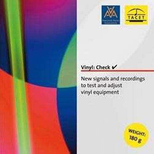 Vinyl:Check-New signals and recordings to test and adjust vinyl eqipment [Vinyl LP]