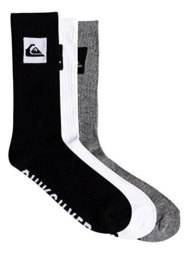 Quiksilver 3 Pack - Crew Socks - Crew Socken - Männer - ONE SIZE - Mehrfarbig