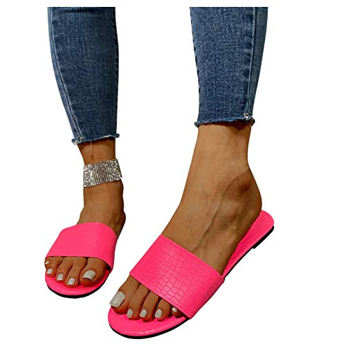 SOFIALXC Sandals for Women Wide Width,New Comfy Flats Platform Sandal Summer Beach Shoes Ladies...