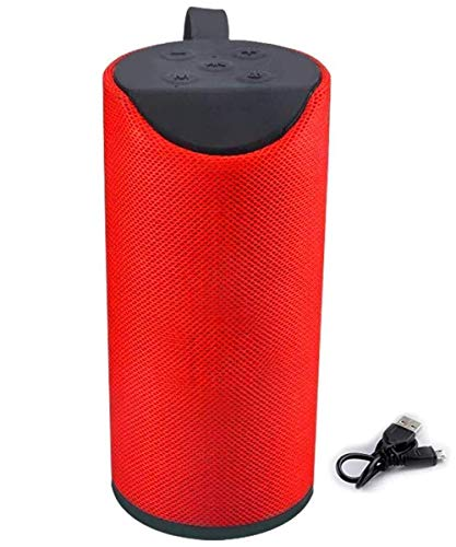 Lucsab Portable Wireless Bluetooth Speaker 10W with Built-in mic, TF Card Slot, USB Port