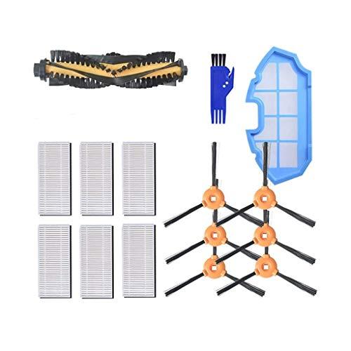 MAXDIRECT Accessory Spare Parts Kit Seitenbürste, Zentralbürste, HEPA-Filter, Vakuumschwammfilter für Ecovacs Deebot N79 N79S - Packung mit 21 Stück.