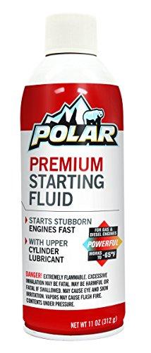 Polar 82-12PK Premium Starting Fluid - 11 oz, (Pack of 12)